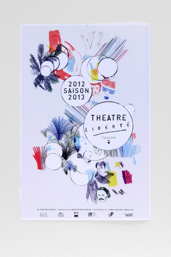 © Catherine Chardonnay et Patrick Lindsay pour le théâtre Liberté — 2012